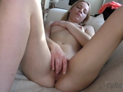 Fresh Barely 19yo Sarah Doing Her First Ever Nude Video - EuroCoeds