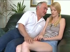 Naughty Old Chap Prefers To Have Sex With Young Pretty Girls