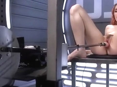 Amarna Miller Solo With Fucking Machine