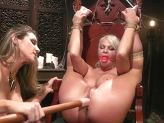 London River & Kayla Paige in Halloween Party Surprise: Kayla Paige Returns to Whipped Ass! - Whip.