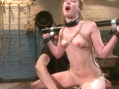 Unbelievable Claire Robbins in very hot hardcore video