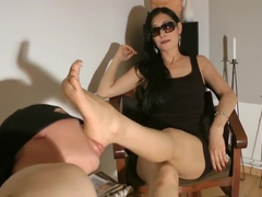 Sandals And Feet Worship (part.2) - Goddess Leyla
