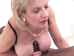 Unfaithful english milf lady sonia shows off her giant boobs