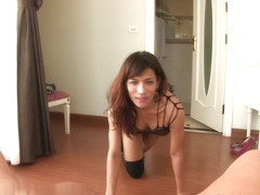 LadyboyGold Video: Flexible Slutty Barebacking
