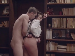 Ivy Lebelle is spending a lot of time in the library getting her tight ass fucked