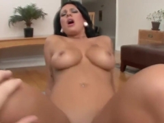 Brunette chick got her ass smashed