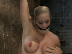 Very intense SM scene with hot blond.Pushed to the edge of sanity and back.Brutal Orgasms