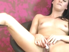Enticing Chloe Lovette having a wonderful time by Masturbating