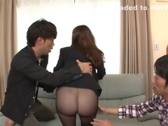 Top Asian gangbang along curvy ass babe, Maki Mizusawa
