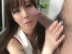 Racy small titted Japanese mom Reiko Sawamura in a kinky sex video