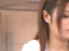 Crazy Japanese whore Yuria Kiritani in Fabulous Blowjob/Fera JAV clip