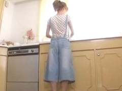 Best Japanese girl Rina Kato in Amazing Facial, Kitchen JAV scene