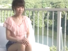 Horny Japanese model Hitomi Oki in Amazing Threesomes, Facial JAV video