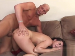 Handsome Beverly Hills having her anal filled