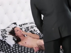Hot Brunette Teen Nikki Next Banged Hard In Her Wet Twat