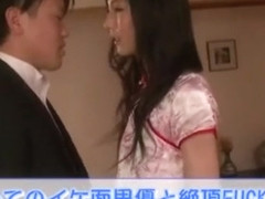 Fabulous Japanese girl in Hottest Blowjob, Stockings JAV scene