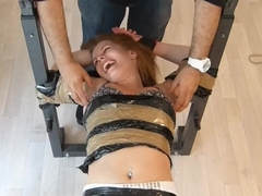 Anna is Wrapped and Tickled - Full Session