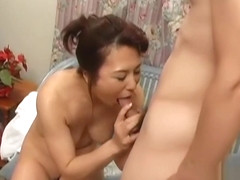 Japanese Mature Aunt and Boy Fantasy