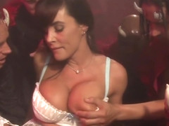 Lisa Ann Gets Destroyed By Demons With Big Dicks - DevilsGangbangs