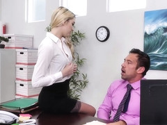 Kenna James Fucks Her Boss  - NaughtyOffice