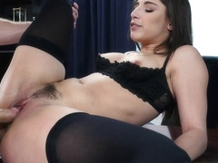 Boss Lady Abella Danger Doesn't Take Guff; Only Big Cock - NaughtyOffice