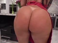 Monica Santhiago - Huge Brazilian Ass Bounce w/ Facial Cumshot Ending