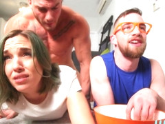 Thyle Knoxx  & William Seed & Brind Love in Peeping On The Sleepover - WhyNotBi