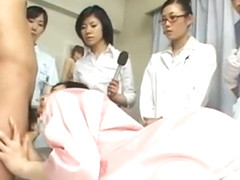 Asian wife is examining female workers part5
