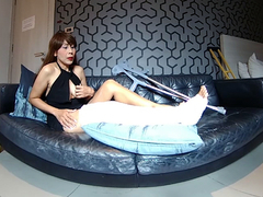 Long Cast Leg And Humiliation Part 1 - VRPussyVision