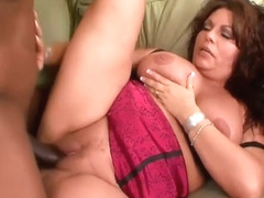 Mexican Mature With Big, Natural Tits Is Sucking A Big, Black Cock And Getting Stuffed With It