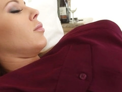 Olivia Austin  Brooke Brand in Olivia Gets Some Lesbian Room Service From Brooke - OliviaAustin