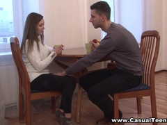 Casual Teen Sex - Katarina Muti - Busty teen wants to fuck today