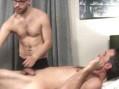 Joe Parker And Angel Ventura - Massage Therapist Seduces Silver Daddy, Before Riding Cock
