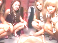Incredible Japanese whore Rina Aina, Riku Hinano, Yume Ayaka in Amazing High Heels, Femdom JAV mov.