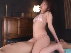 Sexy Japanese queen suck cock and fuck in Roleplay