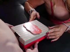 Conorcoxxx-big Xmas Gift With Alura Jenson And Karen Fisher