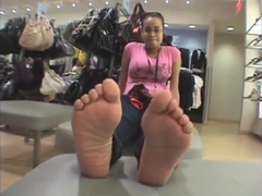 Ticklish Feet and Toes 2
