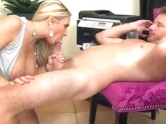 Stunning Huge boobs boss Angel Allwood