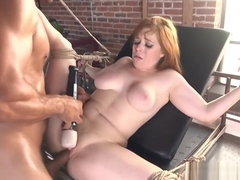 Ginger Sub Disciplined By Toy Loving Dom