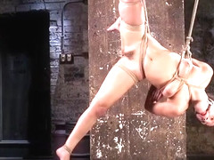 Bdsm Babe Restrained And Dominated Over