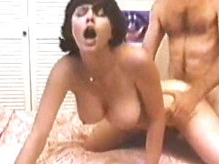 Incredible lesbian classic video with Laurien Dominique and Christine DeShaffer