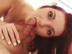 Natalie Lust pov blowjob