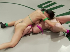 Feather Weight 100lb vet takes on Light Weight Rookie and Destroys her