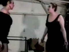Retro Chubby Mom Catfight - She Is From