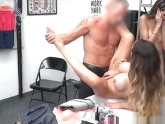 MILF and stealing stepdaughter fucked to avoid punishment