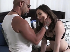 Casey Calvert Gets Banged By Huge Black Dong