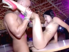 Hot Brunette Fucked In A Club - Kemaco Studio