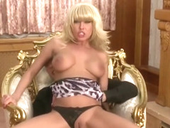 Cute Nikki Blond is a very demanding lady