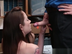Two Teen Girls JoJo Kiss And Rylee Renee Caught Shoplifting And Fucked