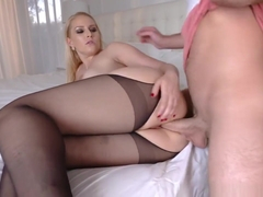 Step Son Feeds Vanessa Cage His Big Cock As Her Birthday